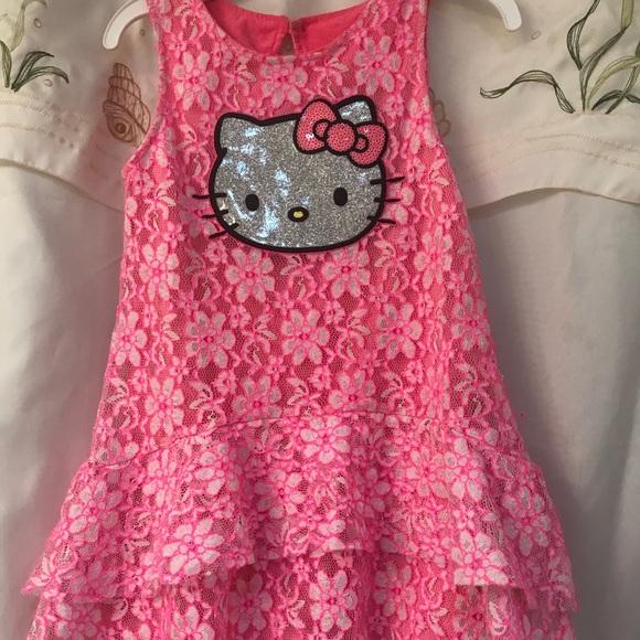 3991661d8 Hello Kitty Dresses | Pink Dress Girls 5t | Poshmark